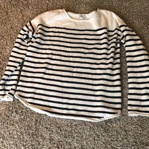 Like New Old Navy Striped Sweater